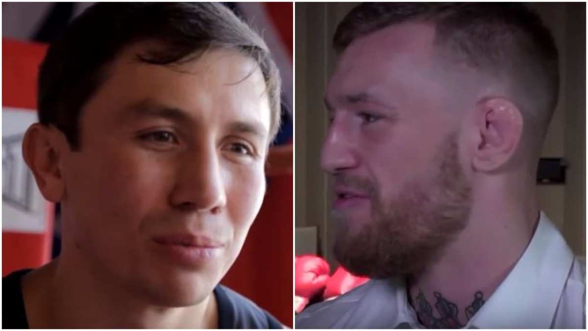 Golovkin 30 Day Weigh In Dispels McGregor 'Out Of Shape' Claims